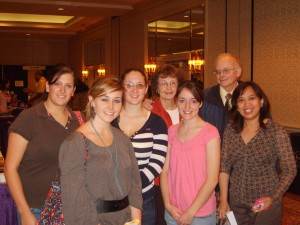 Frostburg Students and their advisors attend the conference